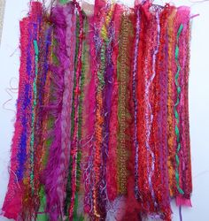 Textile Fiber Art, Textile Artists, Embroidery Art, Machine Embroidery, Sewing Stitches By Hand, Thread Painting, Silk Painting, Painting Art, Creative Textiles