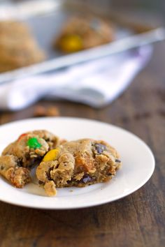Butterfinger Monster Cookies -Pinch of Yum