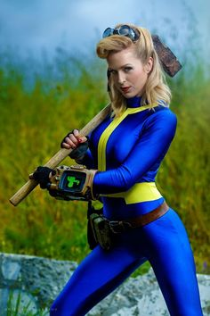 Cosplay Outfits, Cosplay Girls, Cosplay Costumes, Cosplay Ideas, Costume Halloween, Fallout Cosplay, Fallout Art, Fall Out 4, Amazing Cosplay