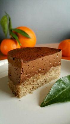 Entremet au Chocolat et aux Zestes d'Orange
