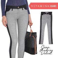 Vitamina Jeans: Jean Audrey Velvet