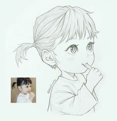 This Illustrator sketches people as anime characters and the result is impressive ⋆ Anime . - This Illustrator sketches people as anime characters and the result is impressive ⋆ Anime & Manga - Anime Drawings Sketches, Cool Art Drawings, Anime Sketch, Manga Drawing, Manga Art, Anime Art, Manga Anime, Learn Drawing, Cartoon Sketches