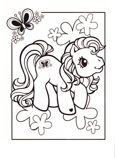 My Little Pony coloring page MLP - Scootaloo