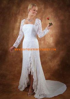 Robe de Mariée originale avec veste dentelle