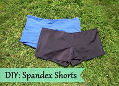 DIY spandex shorts this could come in handy for under my kuk sool won pants