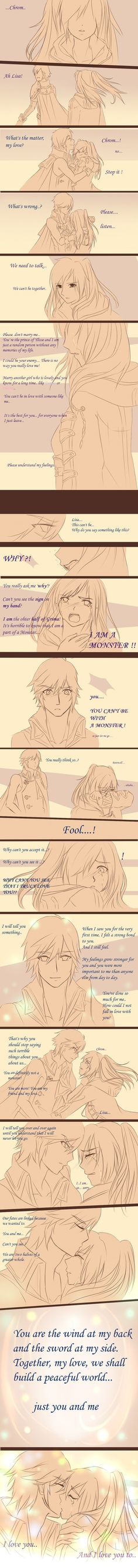 Our fates are linked because we wanted to by OwlLisa on deviantART