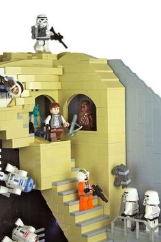 Brandon Griffith - Combining two nerd-oriented pastimes, Star Wars and Chess, LEGO created the 'Star Wars: Return Of The Jedi LEGO Chess Set,' inspired by...