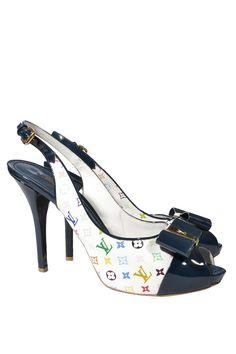 #LouisVuitton #Vintage #Fashion #Accessories #Clothes #Secondhand #Onlineshopping #Designer #outlet #Sale #MyMint #Shoes #Plateau #heels #Footwear
