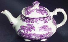 Royal Staffordshire TONQUIN PLUM Tea Pot 5921987 #RoyalStaffordshire
