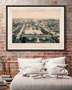 Tablou Framed Art Paris Moderne #inspiring #homedecor #designinterior Framed Art, Vintage World Maps, Tapestry, Paris, Interior Design, Floral, Modern, Poster, Inspiration