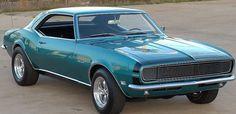1968 Chevrolet Camaro Rally Sport 327