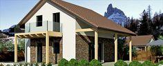 Progetti di case in bioedilizia LeVill House case prefabbricate in legno