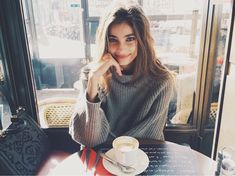Audrey/open)) I sit in a coffee shop humming to myself and writing in a journal when you walk in. I don't notice you but you see me. You walk over to me and sit across from me.