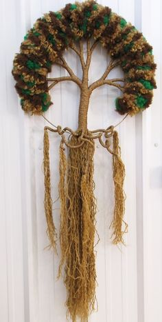 Mary Quite Contrary (Posts tagged macrame) Weaving Textiles, Weaving Art, Tapestry Weaving, Loom Weaving, Hand Weaving, Yarn Crafts, Diy And Crafts, Arts And Crafts, Weaving Projects