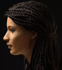 Ancient Egyptian woman& face, who has been christened as Meritamun, is reconstructed from her mummified head by researchers. Ancient Egyptian Women, Ancient Aliens, Ancient History, European History, American History, Forensic Facial Reconstruction, Egyptian Mummies, Anthropologie, Woman Face