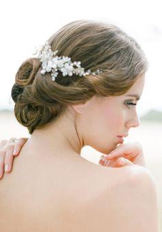 JULIET Pearl Bridal Comb 1