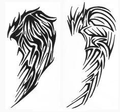 tribal wings 2 by vexed-jesus.deviantart.com on @DeviantArt