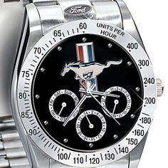 Mustang wrist watch--a must-have for every mustang enthusiast! #WhiteMarshFord
