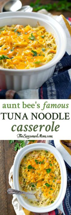 You only need 10 minutes of prep for this Tuna Noodle Casserole -- an easy dinner that's so good it's truly unforgettable!