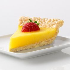 Marshmallow Crispy Lemon Pie -- Jell-O via Recipe.com (make sure all ingredients are GF)