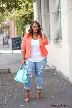 Plus size Spring Fashion Trend Color blocking is one of my favorite ways to dress. One of the reasons…