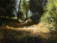 Garden, Tymoteusz Chliszcz on ArtStation at https://www.artstation.com/artwork/8X5AQ
