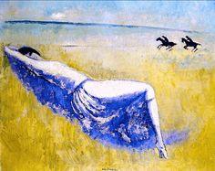 Reclining Woman 1924. Kees Van Dongen (1877-1968)