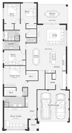 Stockholm dale alcock homes home plans in 2019 дом, одноэтаж Best House Plans, Dream House Plans, House Floor Plans, Home Design Floor Plans, Floor Design, House Design, Building Plans, Building A House, House Blueprints