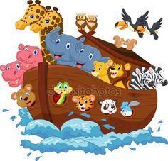 Arki Noego — Wektor stockowy #44745731