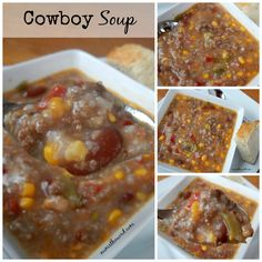 This One Pot Cowboy Soup is easy and delicious. It's hearty, healthy and perfect as a freezer meal! Eat half now, then freeze and eat the other half later!