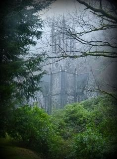 scrapbooking-nature:  Neogothic Church - Kylemore - Ireland