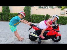 Anabella a furat motocicleta