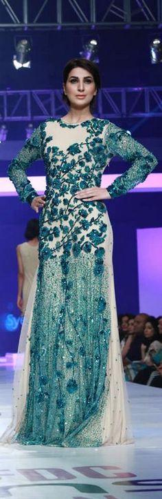Syeda Amera 'World of Sea' Collection at PFDC Sunsilk Fashion Week 2015