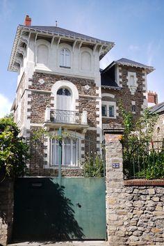Villa René 1906 - 22 rue Gaston turpin - Nantes - France