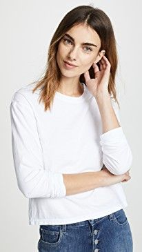 ef7b0d08440 James Perse Vintage Boxy Long Sleeve Tee Reviews in 2019 | Women ...