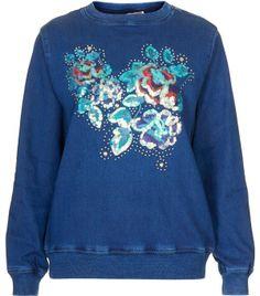 9 Floral Sweatshirts to Make a Statement in ... | All Women Stalk