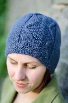 Ravelry: Hopewell Hat/ Walnut Square pattern by Alison Green