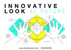 Trendy Innovation systems layouts in polygonal contour line composition, future analysis and technology operations. Made in awesome geometry style with linear pictogram of future for web design - comprar este(a) imagem vetorial de banco no Shutterstock e encontrar outras imagens.