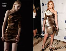 Jessica Chastain In Lanvin - The Fashion Institute of Technology Gala 2013 Gorgeous!