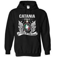 Catania - Its Where My Story Begins! - #thoughtful gift #gift sorprise. TAKE IT => https://www.sunfrog.com/No-Category/Catania--Its-Where-My-Story-Begins-6861-Black-Hoodie.html?68278