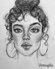 Nice Portrait Drawing Charcoal Drawings Drawing Eyes Attracts Lips Drawing Hair Drawing Artwork The Effective Pictures We Offer You About Art Drawing cartoon A quality. Pencil Sketches Of Faces, Pencil Art Drawings, Art Drawings Sketches, Charcoal Drawings, Sketch Art, Sketch Of Lips, Drawings Of Lips, How To Sketch, Charcoal Drawing Tutorial