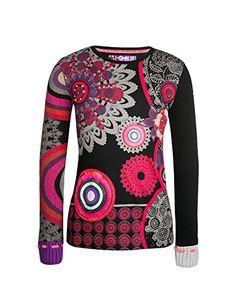 Arizona, Girl Falling, Fall Winter 2015, Kids Girls, Christmas Sweaters, T Shirt, Fabricant, Boutique, Black And White