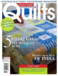 Gratis e-magazine met Quilt ideeën.