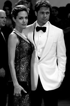 Angelina and Brad - Venice Film Festival (2007)