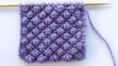 How to Knit the Raspberry Stitch or Trinity Stitch - YouTube