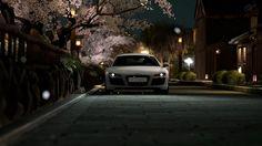 Top1Walls: Audi Audi R8 Gran Turismo 5 Japan night desktop bakcgrounds