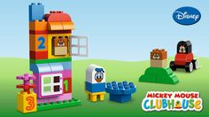 LEGO® DUPLO® - Mickey & Friends Play and build with Mickey Mouse, Minnie Mouse, Goofy, Pluto, Donald Duck and Chip & Dale with the Mickey & Friends play set!