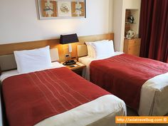 Park Hotel Tokyo Shiodome Twin Room (21 sqm) ~USD170/night | Near Shimbashi and Shiodome Stations