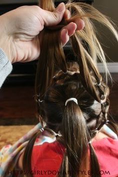 Lots of pretty hair styles for little girls