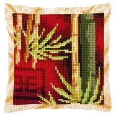 Набор для вышивки крестом Vervaco подушка Бамбук PN-0148436